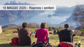 18 maggio riaprono i sentieri Lecco