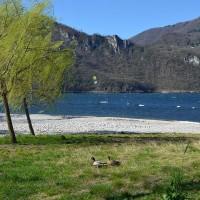 Abbadia Lariana spiaggia