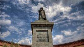 Monument to Antonio Stoppani