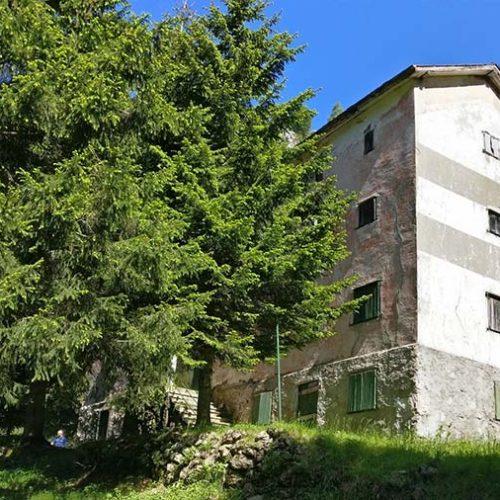 Baitello del Vallone - Ex rifugio Casari