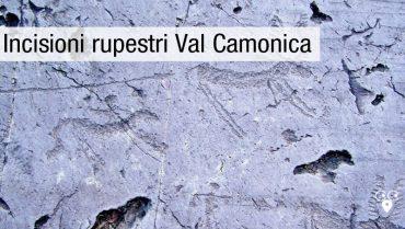 BERGAMO VAL CAMONICA incisioni rupestri