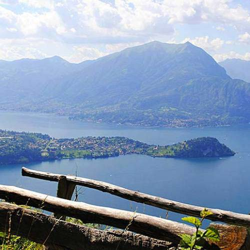 Vista lago dal sentiero del Viandante - Ph. Roberto Simonetti
