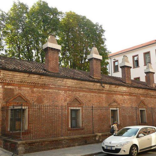 Lazzaretto - Parte esistente via San Gregorio