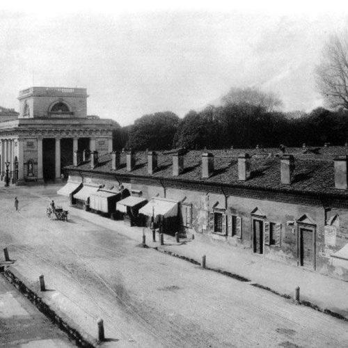 Lazzaretto - Immagine storica 1870