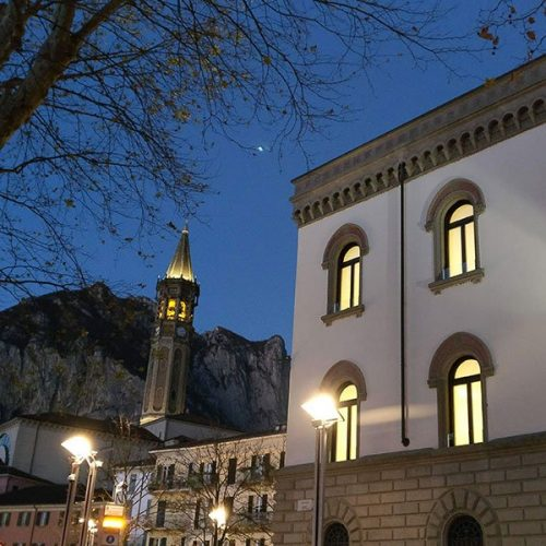 Lecco - Palazzo Paure - by night
