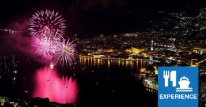 Lecco fireworks dinner cruise