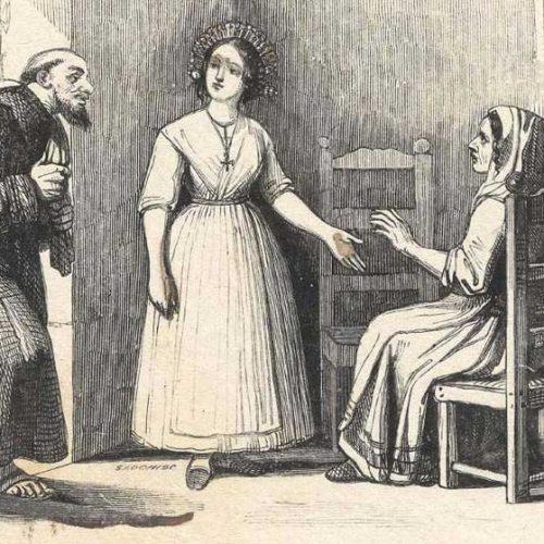 Lucia e Fra Cristoforo
