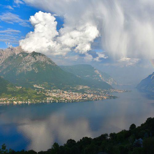 Lecco: ramo orientale del Lago di Como