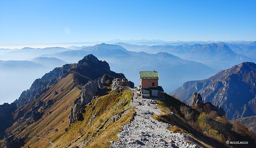 Grignetta rifugio rosalba sentiero delle foppe for Piani di cottage di vacanza