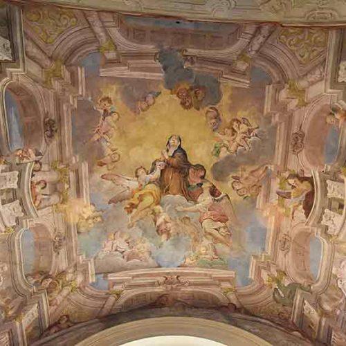 Affresco della Gloria di S. Marta - Lecco