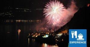 Varenna fireworks dinner cruise