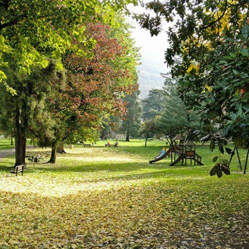 Villa Gomes Park in Lecco