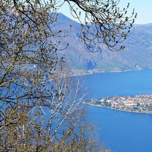 Lago di Lecco - Panorama dal San Martino