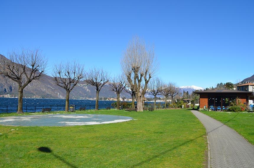 Abbadia lago di Como lido parco chiesa Rotta