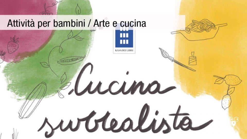 attività con i bambini arte e cucina