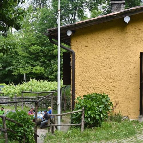 Baita degli Alpini di Belledo - Sentiero Rovinata a Lecco
