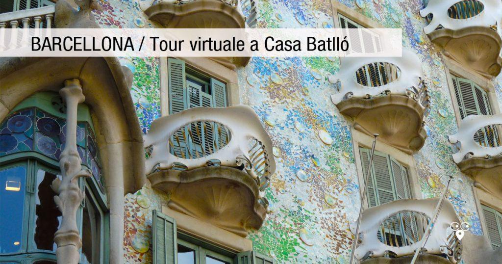 Barcellona casa Battló tour virtuale