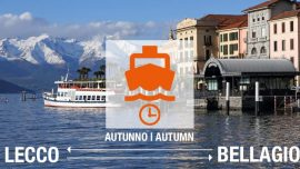 Battelli Lecco Bellagio - Orario autunnale
