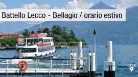 Battello Lecco Bellagio