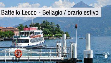 Ferry Boat Lecco Bellagio