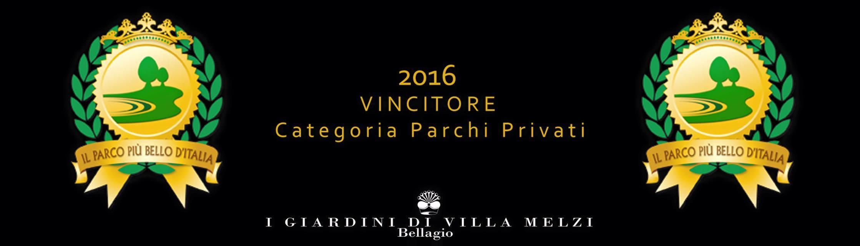 Bellagio Villa Melzi 1° premio Parco più bello d'Italia 2016
