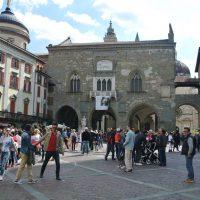Bergamo Alta piazza Vecchia