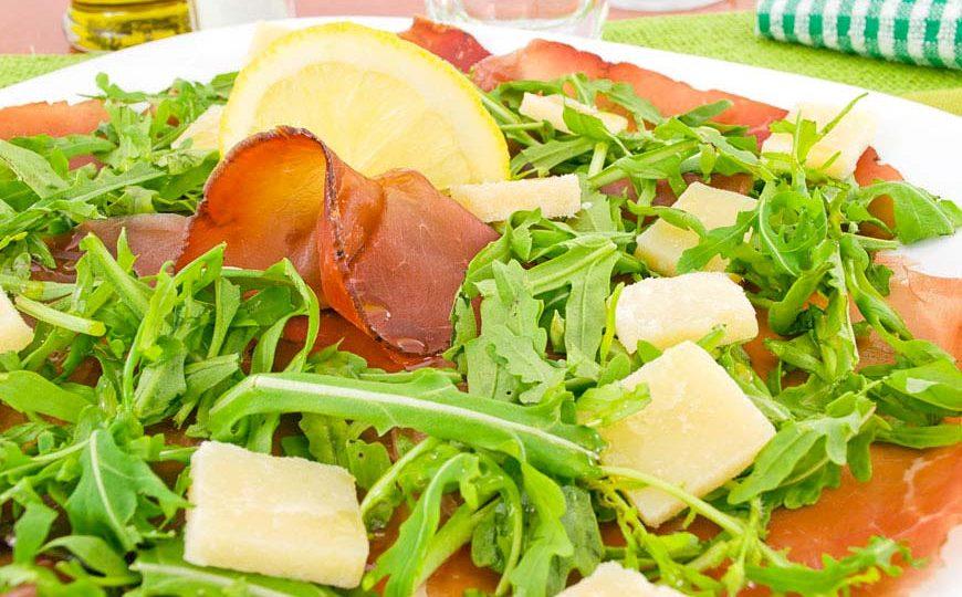 Bresaola al limone- Ricetta