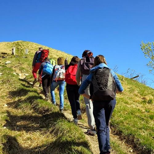 Sentiero per Capanna Mara