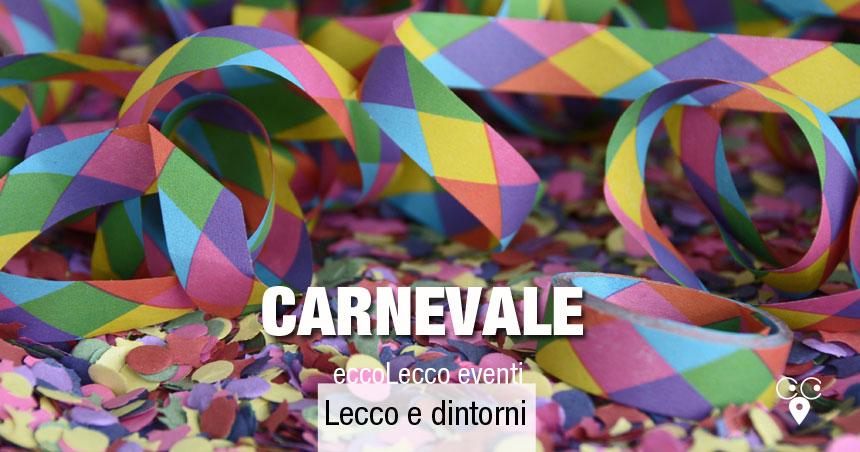 Carnevale Lecco e dintorni