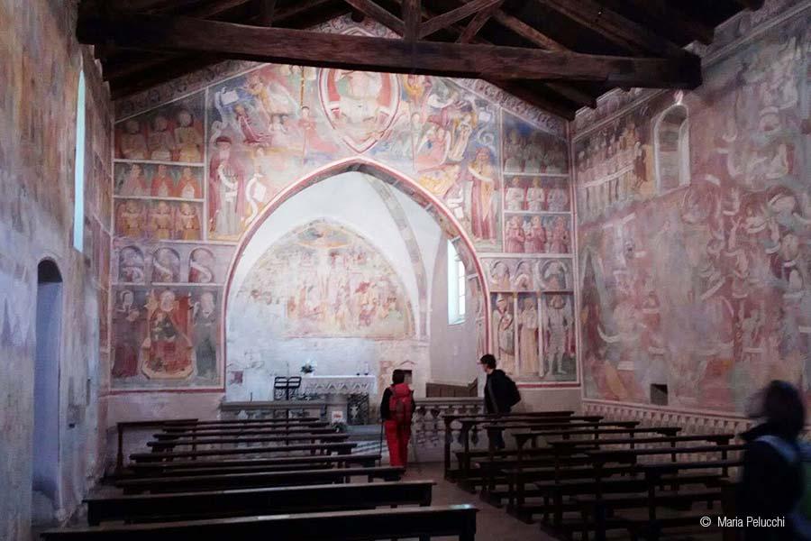 Chiesa di San Giorgio - Affreschi