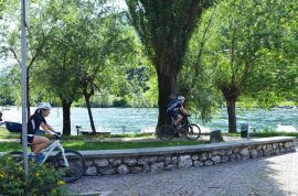 Ciclabile laghi Garlate e Olginate