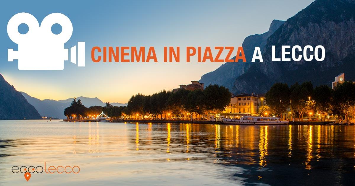 cinema in piazza Lecco