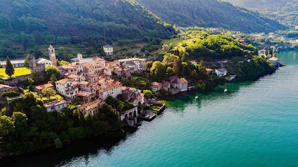 Corenno Plinio - Dervio - Lago di Como