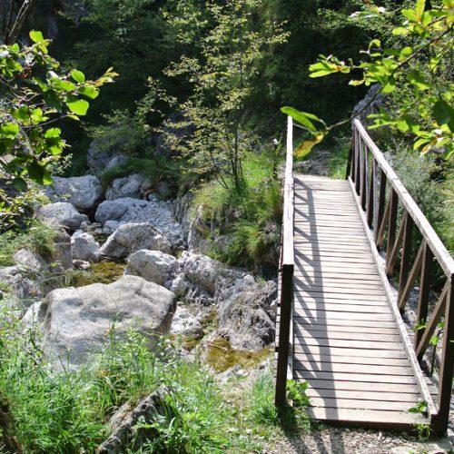 Sentiero Erve Capanna Monza - Ponte del mulo
