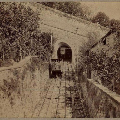 Funicolare di Bergamo a fine Ottocento