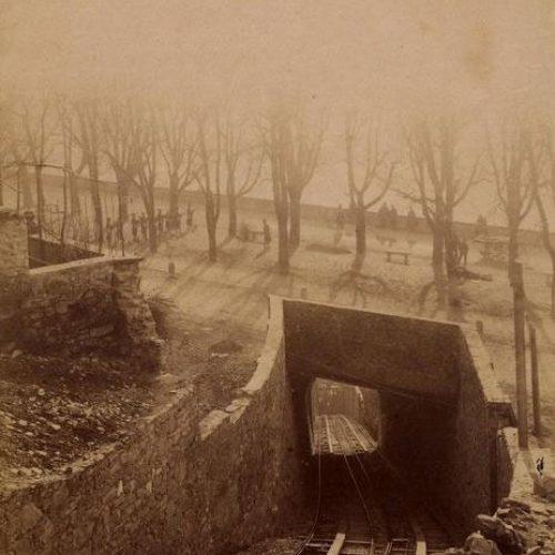 Funicolare di Bergamo e viale delle mura
