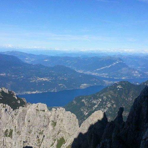 Panorama dalla Grignetta