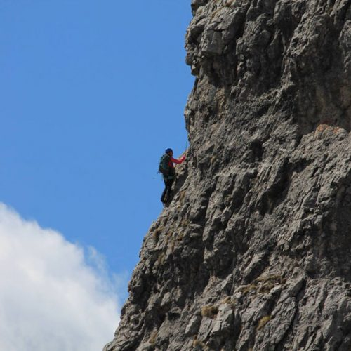 Grignetta sentiero Cresta Sinigaglia