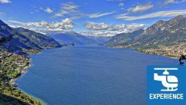 helicopter tour lake Como