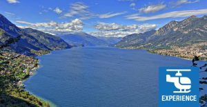 helicopter tour lake Como