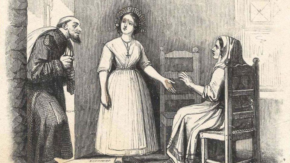Fra Cristoforo  Agnese e Lucia
