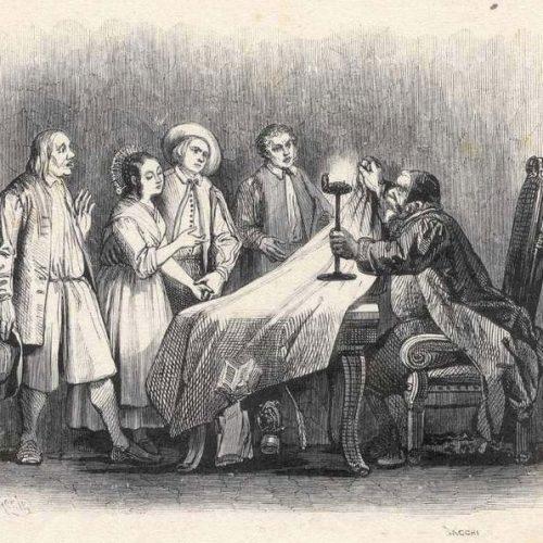 Cap. VII - Sollevata al lucerna, ghermito il tappeto