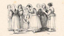 I promessi Sposi Lucia tra le donne