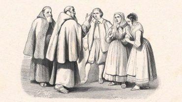 Padre Cristoforo Renzo Lucia Agnese