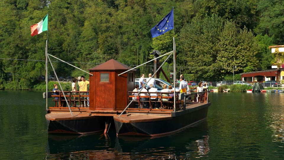 Traghetto di Leonardo da Vinci – Imbersago