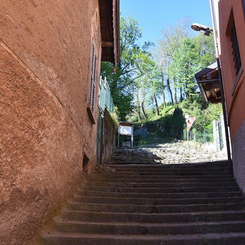 Inizio sentiero per San Michele - Galbiate LC