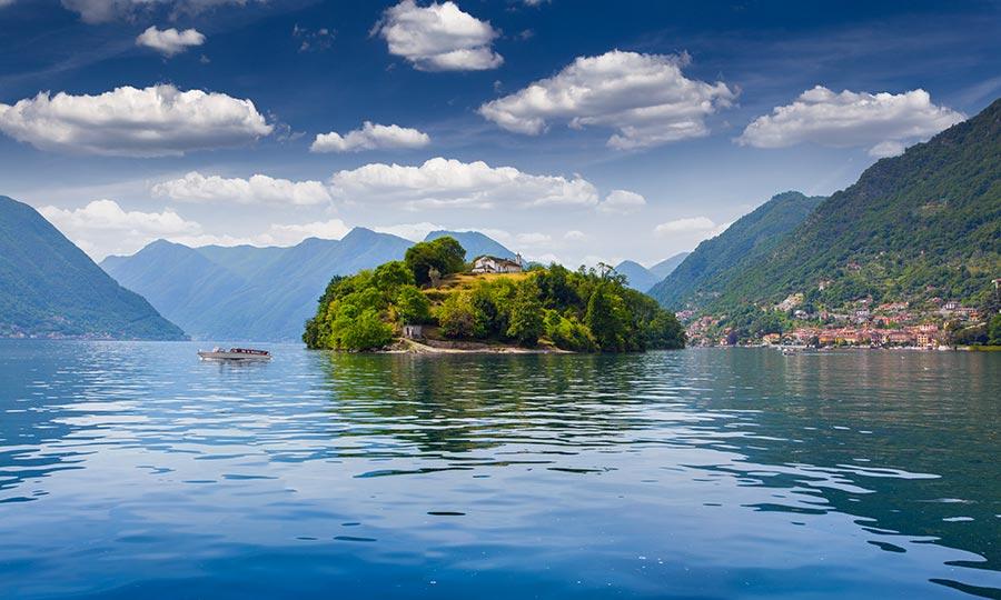 Isola Comacina Lago di Como
