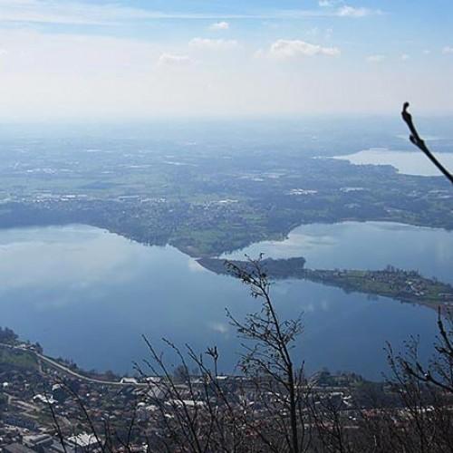 Tour in bici – Tramonto sui laghi Briantei