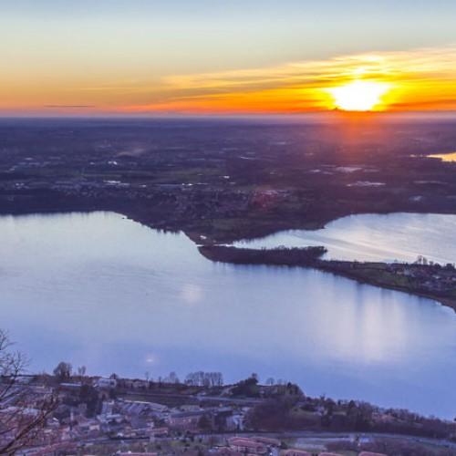 Bike tour – Sunset on lakes Briantei
