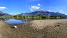 lago di como spiaggia di sorico
